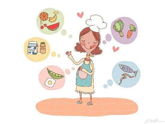 刚刚怀孕的准妈妈每天应该怎么吃?